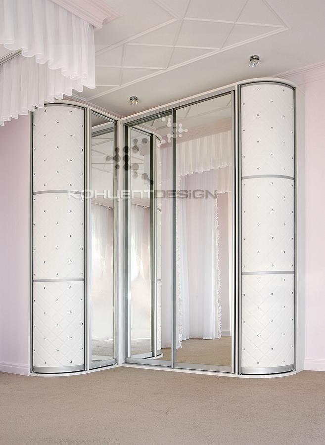 Радиусные шкафы - концепт design мебель обнинск.